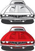 Muscle car_Plymouth \'Cuda