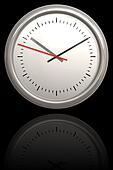 Chrome Clock