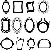 Mirror Clip Art - Royalty Free - GoGraph