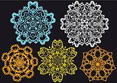 lace pattern, vector