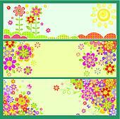 Horizontal greeting cards