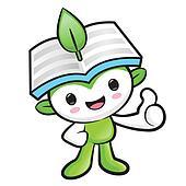 Environmental Mascot the hand best gesture. Nature Fairy Character Design Series.