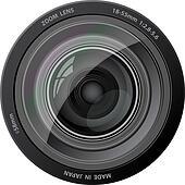 Vector camera lens.