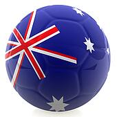 3D Australia football