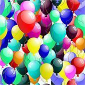 seamless balloons