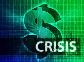Crisis Finance illustration