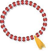 Bracelet with gemstone