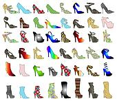 Shoe Silhouettes 3
