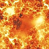 Fiery explosion seamless texture