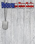 Veterans Day sale