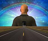 Road to man