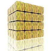cube assembling from blocks