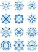 Decorative Snowflake Ornaments