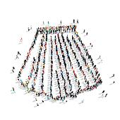 people shape  skirt cartoon
