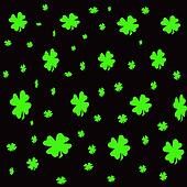 Shamrock background