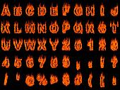 Blazing Alphabet 3