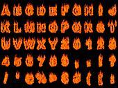 Blazing Alphabet 2