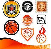 Basketball Design Kit