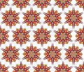 fabric mandala harsh sunlight