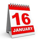 Calendar. 16 January.