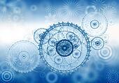 business metaphor, ancient mechanism, clockwork