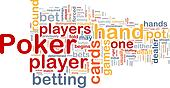 Background concept wordcloud illustration of gambling betting gaming
