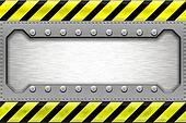 Steel border