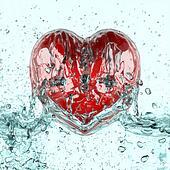 Wash heart.