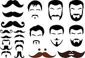 mustache designs