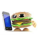 3d Beefburger has a new smartphone