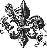 classic royal emblem