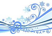 white winter background