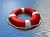 Lifebuoy floating