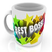 Best Boss Coffee Mug Top Leader Manager Supervisor Prize