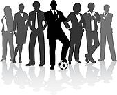 Football business team