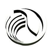 Hand protecting environmental logo