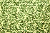green paisley pattern