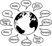 Translate Earth Languages say Hello World
