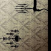 Damask and interior