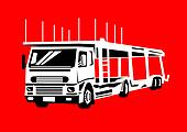 car transporter truck hauler