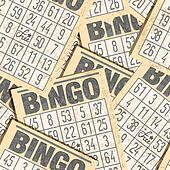 Bingo retro background