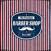 Barber Shop Retro