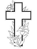 Stock Illustration of Easter Cross