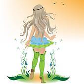 farewell summer girl