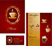 Coffee menu template - 3