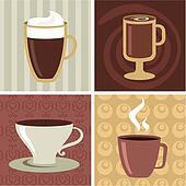 Coffee icons set - 2