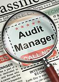 We're Hiring Audit Manager. 3D.