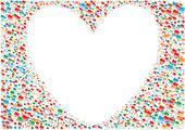 White_heart_background
