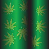 Marijuana green background