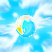 sparkling planet
